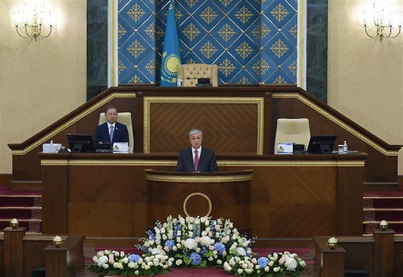 Президент Казахстана выступил с Посланием к народу республики