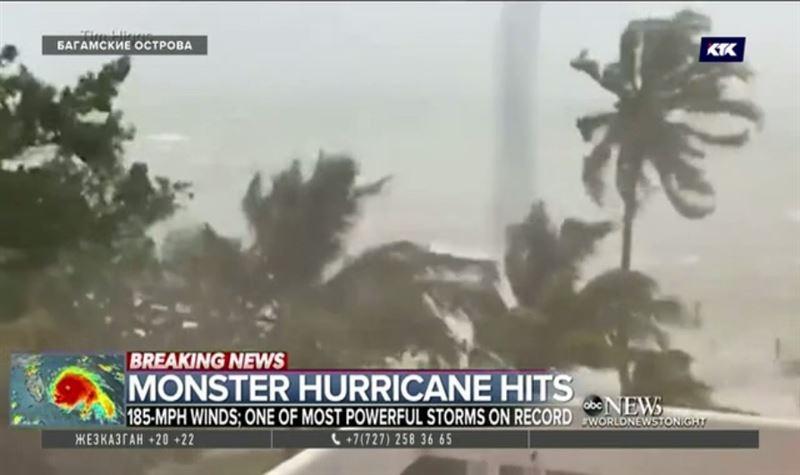 На США надвигается разрушительный ураган