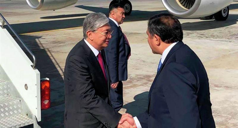 Президент Казахстана прибыл в Атырау