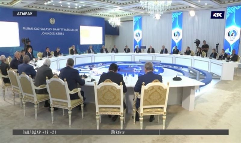 Президент Казахстана выступил в Атырау