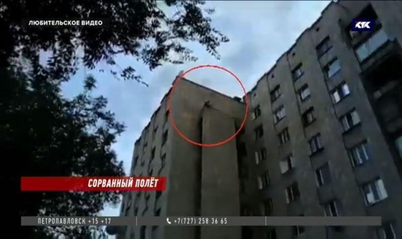 Молодой павлодарец, поссорившись с возлюбленной, пытался спрыгнуть с 9-го этажа