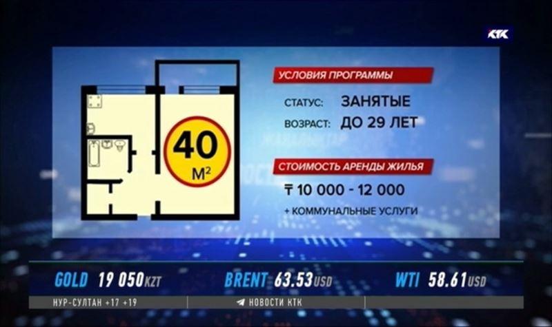 До конца года молодые казахстанцы начнут получать арендное жильё