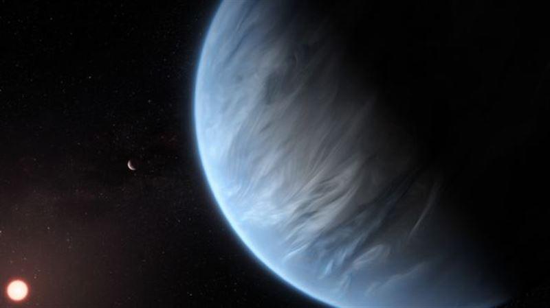 Вода обнаружена на потенциально обитаемой планете