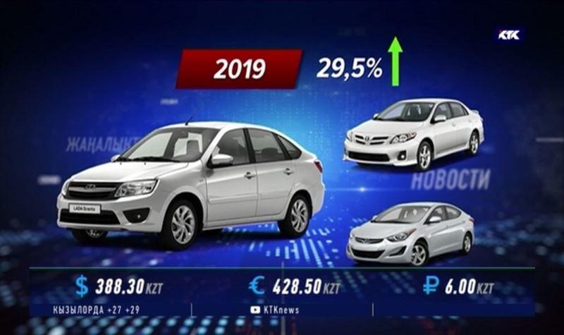 Миллиард тенге потратили казахстанцы на покупку новых машин