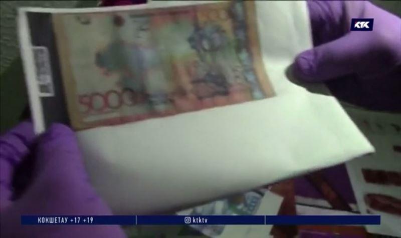 Талгарец печатал деньги на принтере