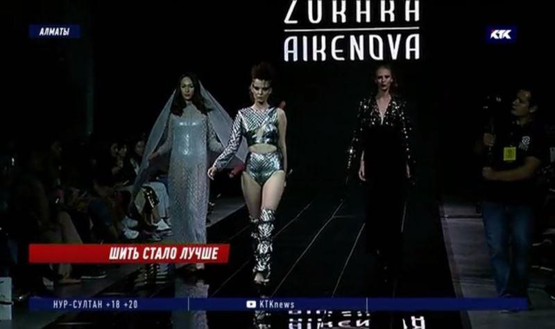 На Eurasian Fashion Week in Almaty представили 14 модных коллекций