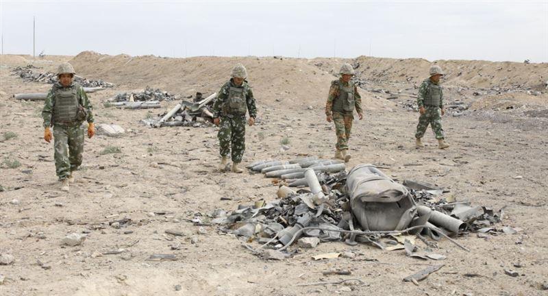 Четверо военнослужащих получили травмы в результате взрыва в Арыси