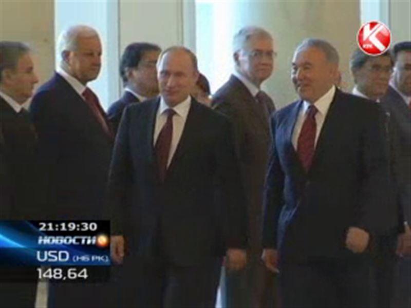 Владимир Путин приехал в Астану решать проблемы с Байконуром и обсуждать создание Евразийского союза