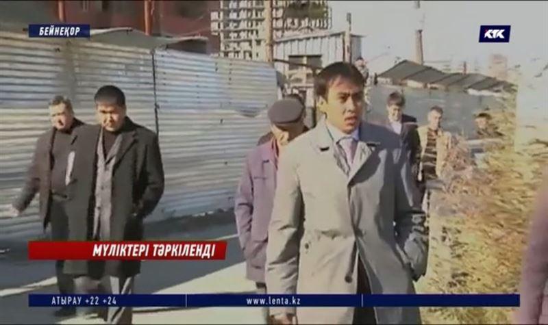 «Азбука жилья»: Тайжановтың дүние-мүлкі тәркіленді