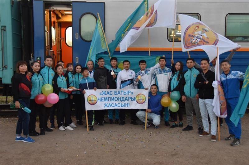 Маңғыстаулық самбошылар Азия чемпионы атанды