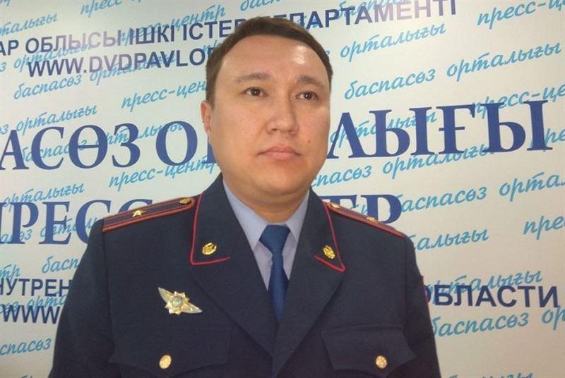 Павлодарда полицей асылып тұрған жерінен табылды