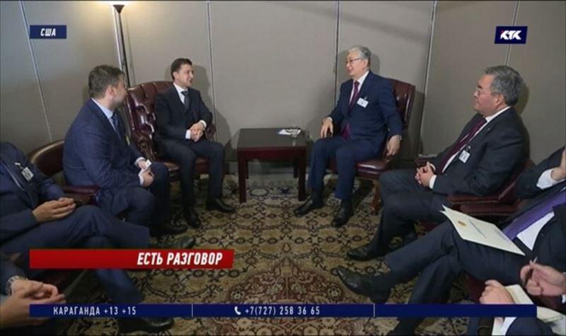 Токаев и Зеленский пригласили друг друга в гости