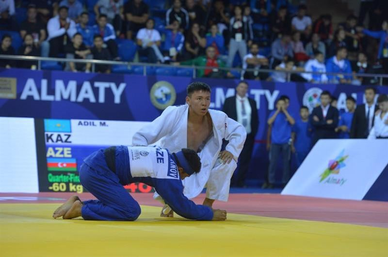 Әділ Марлен дзюдодан әлем чемпионатында қола медаль алды