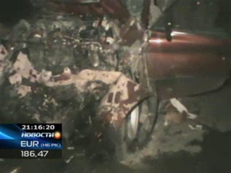 Страшная авария в Жамбылской области: за рулём был 17-летний