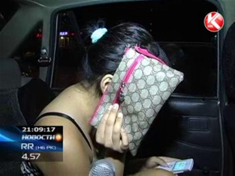 В Алматы пьяная пассажирка угнала машину у таксиста