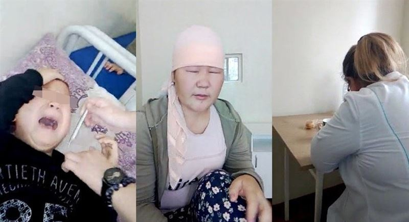 Ожоги глаз получил 4-летний ребенок в инфекционке Жанаозена