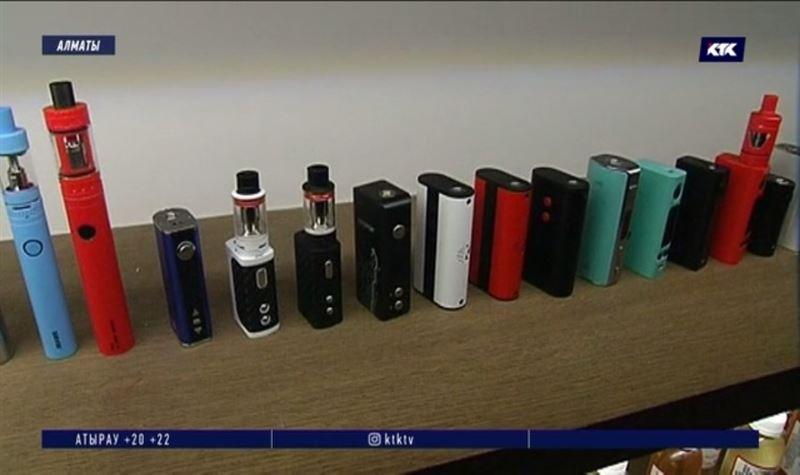 ВКазахстаненамереныприравнять электронные сигаретык табачным изделиям
