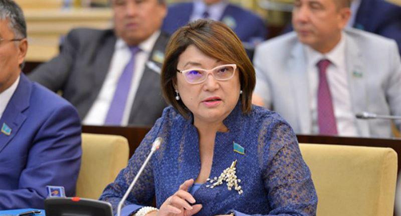 Бырганым Айтимова стала заместителем председателя Совета сенаторов