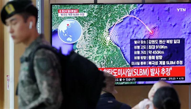 Ракеты КНДР были запущены в сторону Японского моря