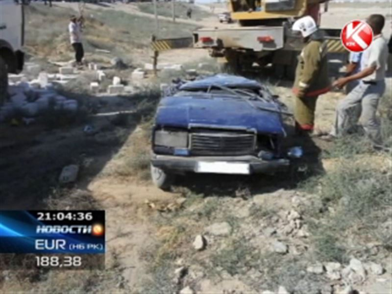 Несколько крупных аварий на западе страны