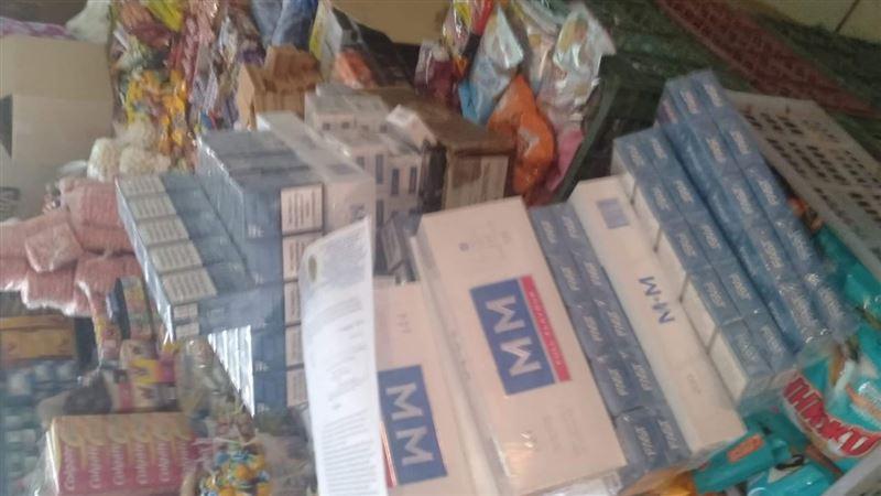 Крупную партию табака без акцизных марок изъяли в Аральске
