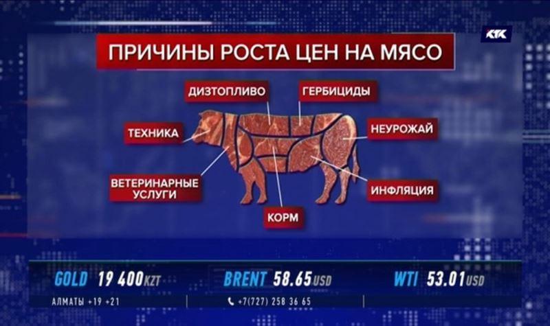 Эксперты назвали 7 причин роста цен на мясо
