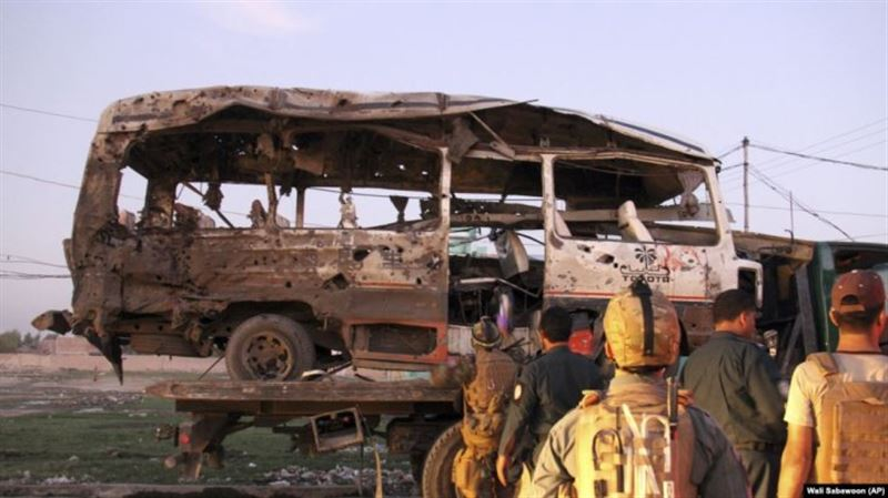 Ауғанстанда жарылыстан 10 адам қаза болды