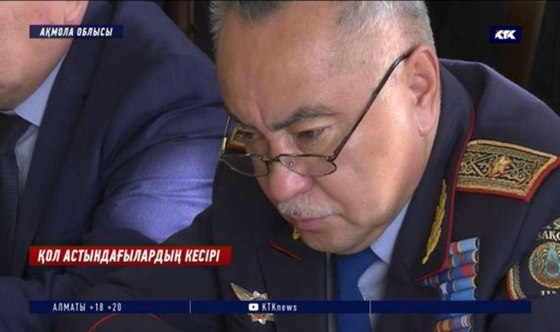 Ақмола облысы: Орынбасары үшін бастығы қызметінен кетті