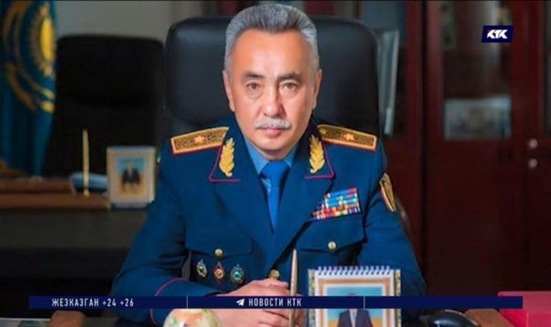 Главный полицейский Акмолинской области покидает пост после задержания подчинённых