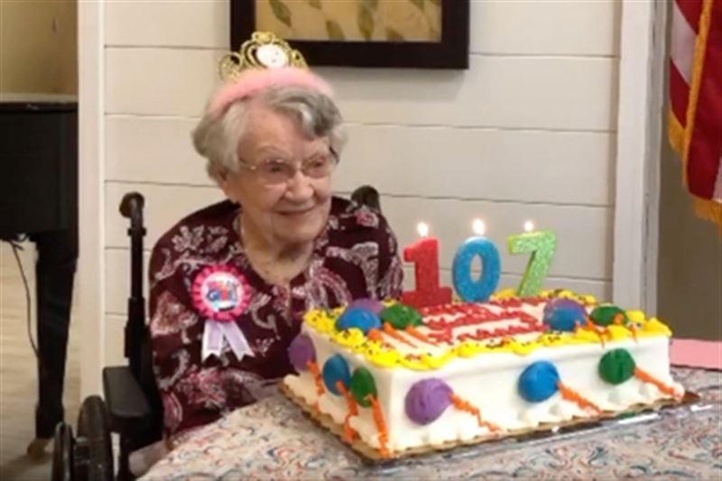 107-летняя женщина рассказала о секрете своего долголетия