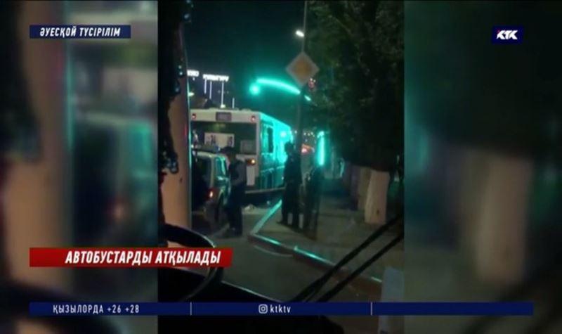 Қарағанды: Автобустарға оқ жаудырған адам іздестірілуде