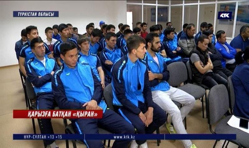 Түркістан: Қыран футболшылары неге жалақысыз жүр