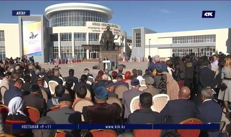 Токаев открыл в Актау центр Абиша Кекильбаева