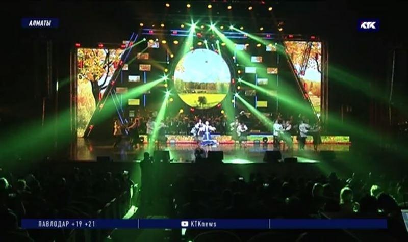 На международном фестивале в Алматы танцоры, певцы и музыканты боролись за звание самого талантливого