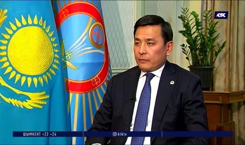 Первое интервью столичного акима Кульгинова – в программе «Слуги народа»