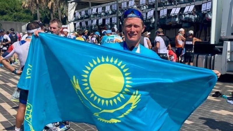 Александр Винокуров Ironman Әлем чемпионатында жеңіске жетті
