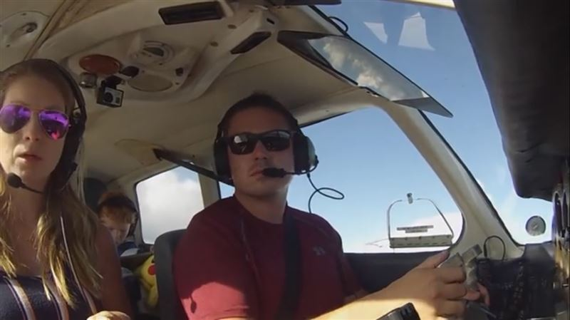 Пилот экстренно посадил самолет из-за отказавшего управления