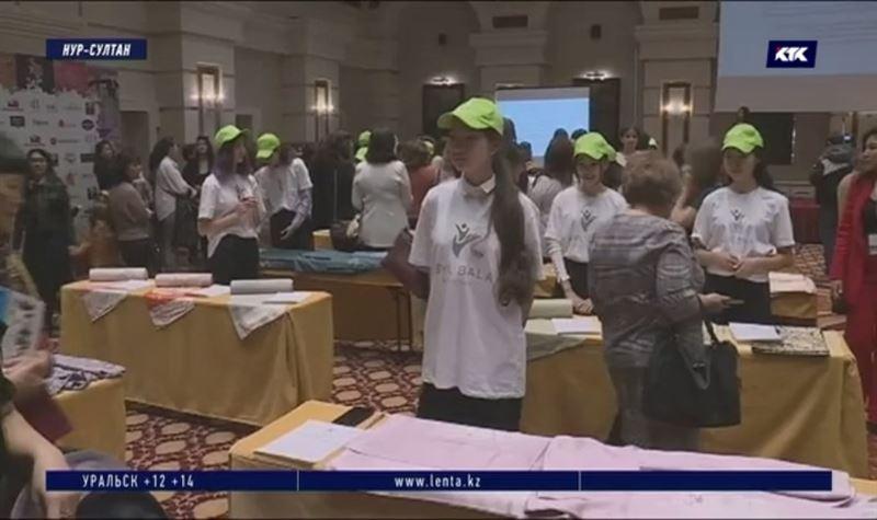 В столице прошла благотворительная акция от Хитоми Шимомуры