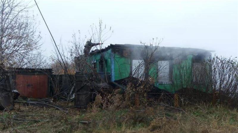 Пенсионер погиб в результате пожара в собственном доме