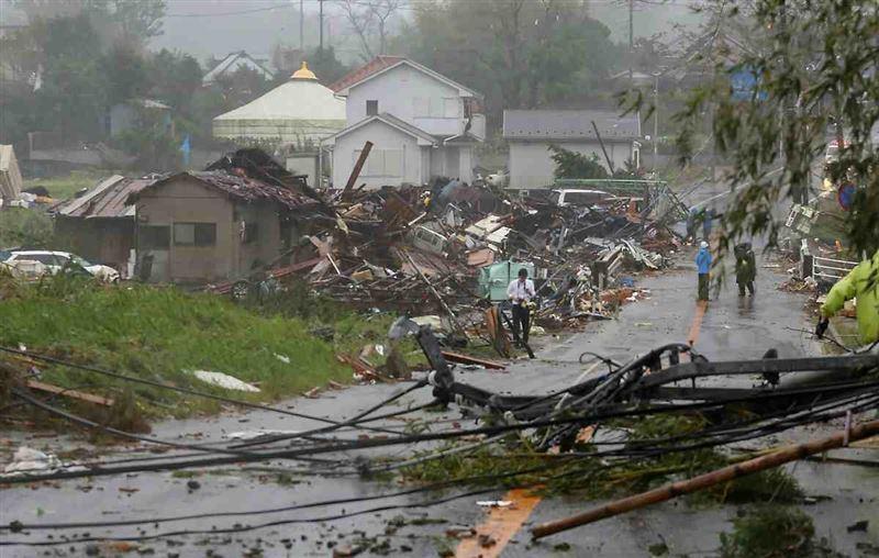 Жапонияда тайфун дауылынан қаза болғандар саны 68 адамға жетті