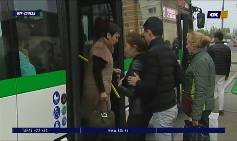 В столице штрафуют безбилетников и нарушающих ПДД водителей автобусов