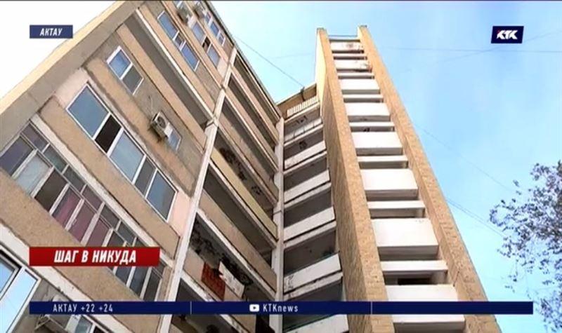 15-летний школьник спрыгнул с последнего этажа своего бывшего дома