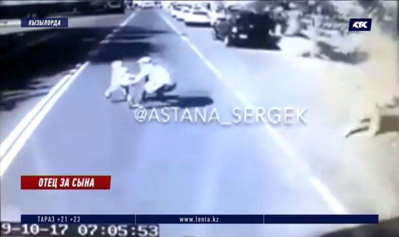 Отец погиб, стараясь спасти выбежавшего на дорогу ребёнка