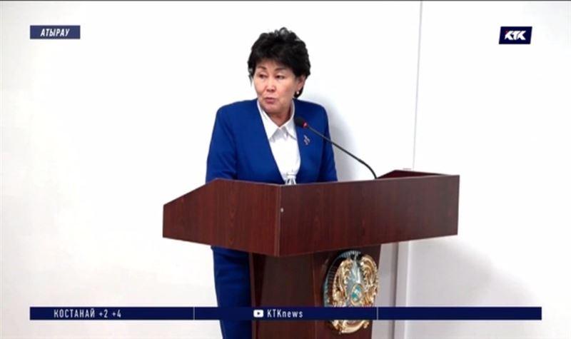 Руководитель управления здравоохранения Атырауской области ушла в отставку