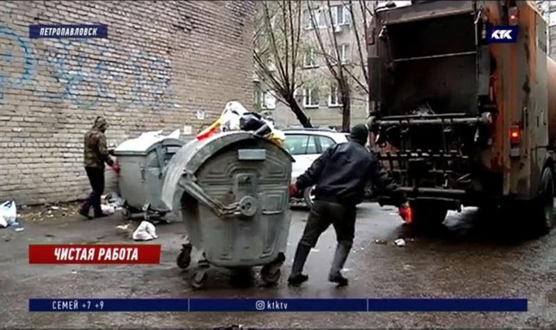 Петропавловск избежал мусорного коллапса