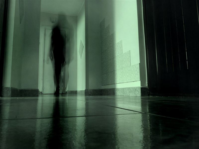 Привидение запечатлели на видео в школе Актау