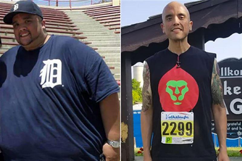 Мужчина похудел на 215 килограмм, боясь умереть