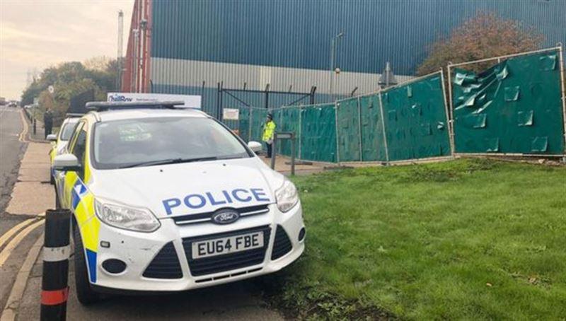 В Великобритании найдена фура с 39 телами