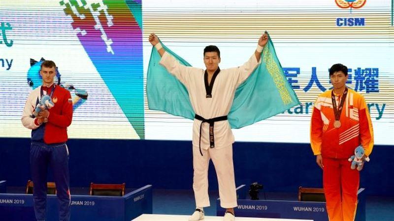 Таеквондошы Руслан Жапаров Бүкіләлемдік әскери ойындарда алтын медаль жеңіп алды