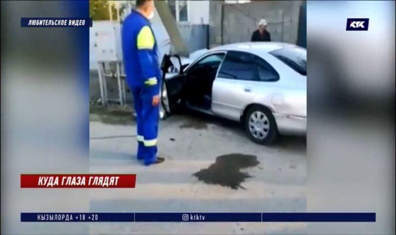 Водитель сбежал с места ДТП, оставив в салоне 2-летнего ребёнка